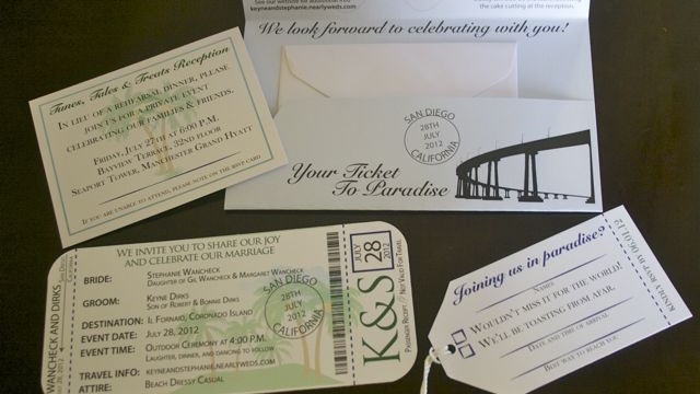 Dirkcheck Wedding Stationary